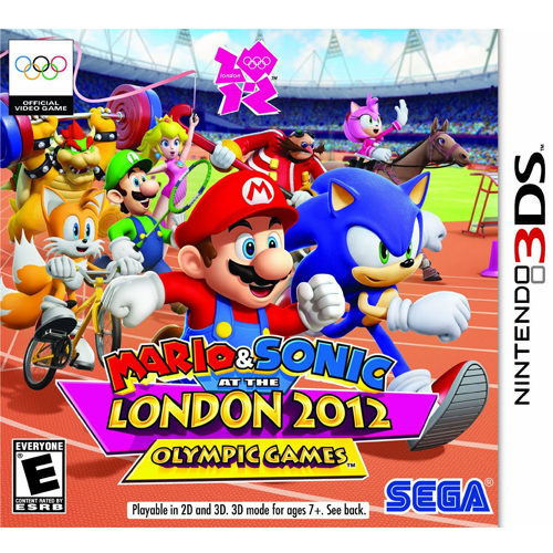 Mario & Sonic at the London 2012 Olympic Games - Nintendo 3DS