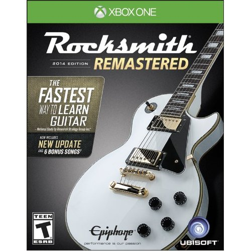 Rocksmith 2014 Edition Remastered - Xbox One 08P-P22-02430