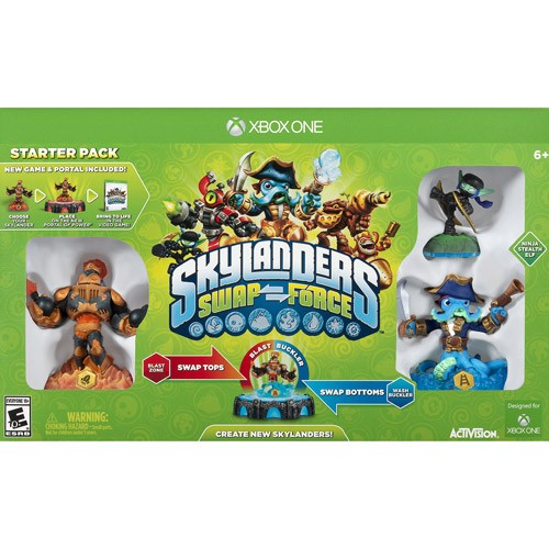 Skylanders Swap Force Starter Pack - Xbox One 08P-P22-47095