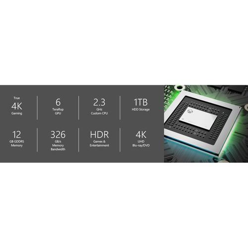 Microsoft Xbox One X 1TB Console