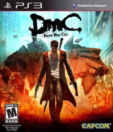 DMC: Devil May Cry - Playstation 3 08L-G58-34028