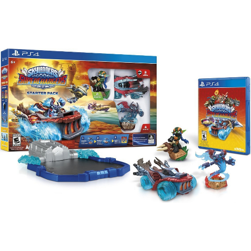 Skylanders SuperChargers Starter Pack - PlayStation 4 08L-P22-87502
