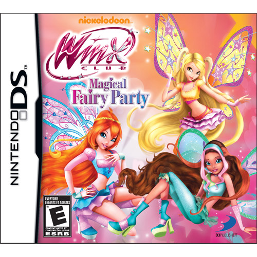 Winx Club Magical Fairy Party Simulation Game Cartridge - Nintendo DS