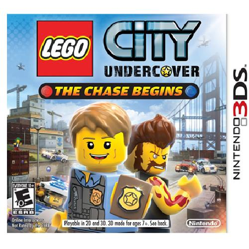 Lego City Undercover: The Chase Begins - Nintendo 3DS 08O-T05-CTRPAA8E