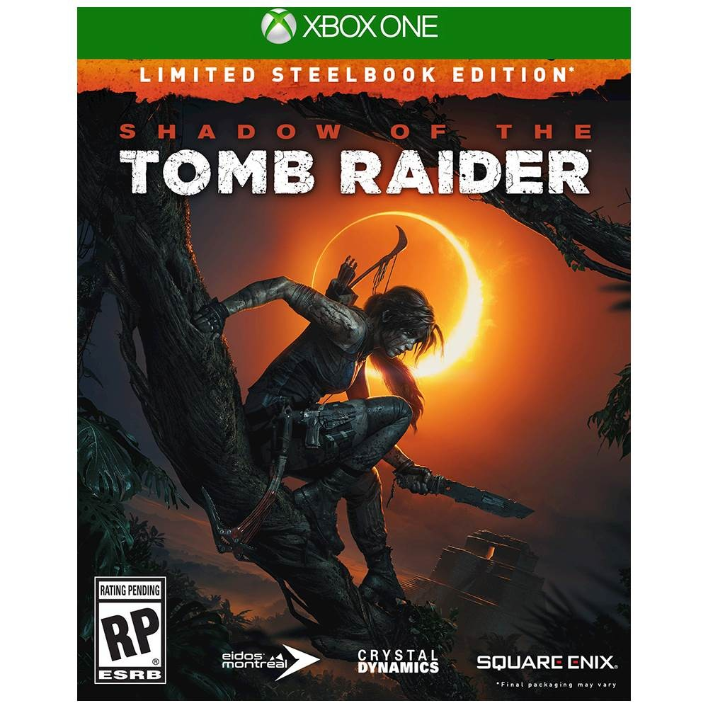 Shadow Of the Tomb Raider Limited Steelbook Edition - Xbox One 08P-B10-SQE92093