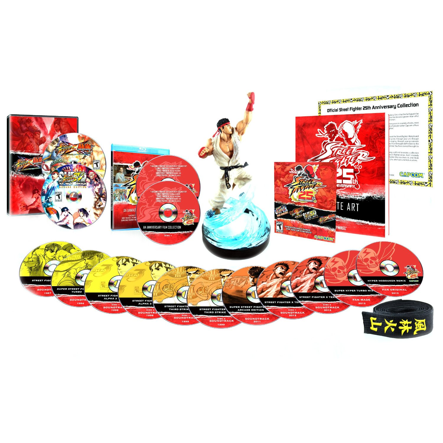 Street Fighter 25th Anniversary Collector's Set - Xbox 360 08P-G58-33070
