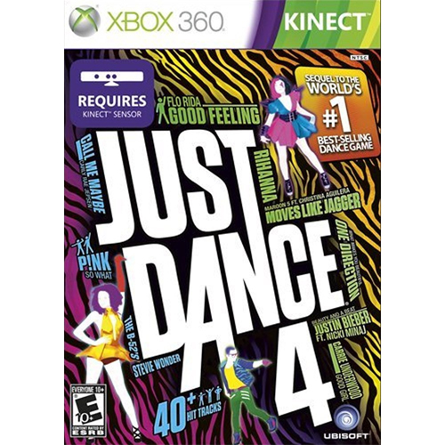 Kinect: Just Dance 4 - Xbox 360