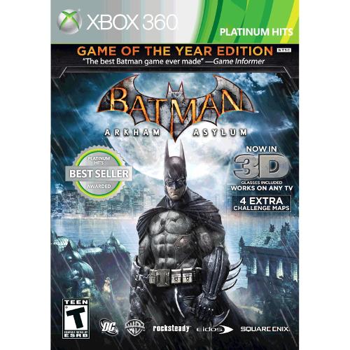 Batman: Arkham Asylum - Xbox 360 08P-P22-20092