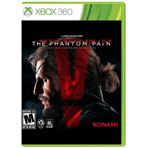 Metal Gear Solid V: The Phantom Pain - Xbox 360 08P-P22-30179