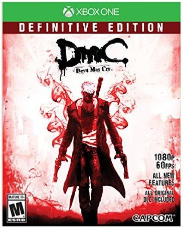 DMC Devil May Cry: Definitive Edition - Xbox One 08P-P22-55010