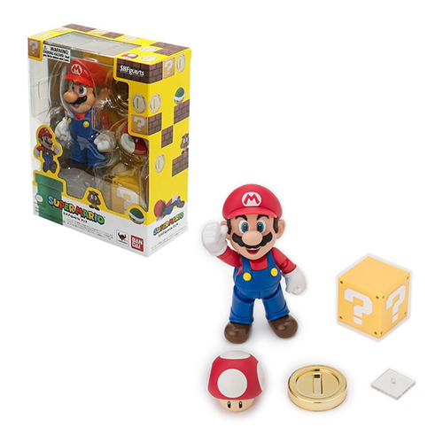 Bandai Tamashii Nations S.H. Figuarts Super Mario Figure 08U-P24-MAR142254