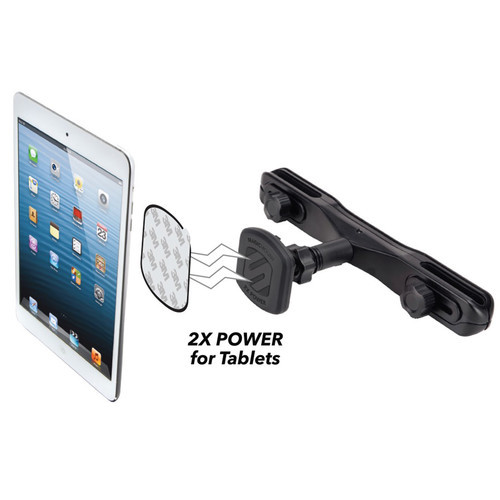 Scosche magicMOUNT XL Rear Seat Headrest Mount for Tablets / Smartphones / Mobile Devices