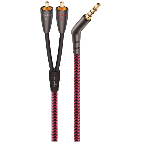 PipeLine ET-4 6 ft. 3.5mm to RCA Stereo Audio Cable