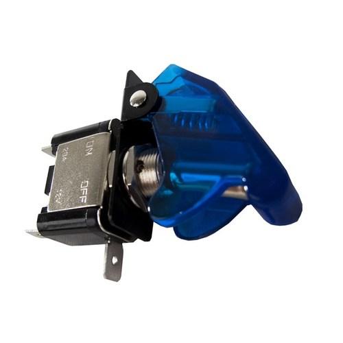 Race Sport 12V LED Toggle Switch - Blue