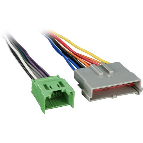 metra turbowires 705511 wiring harness for ford premium sound system