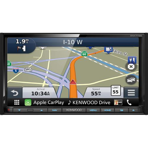 """Kenwood DNX773S 6.95"""" 2-DIN Navigation System with Bluetooth & HD Radio 09T-B14-DNX773S"""