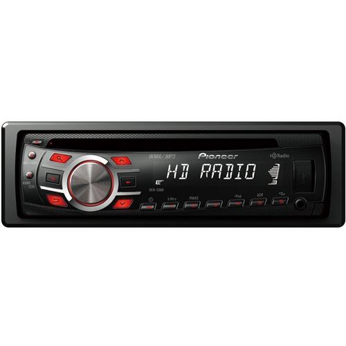Pioneer DEH2500UI Single DIN Car Stereo CD / MP3 Receiver USB / AUX