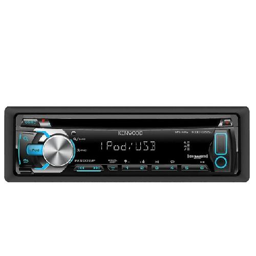 Kenwood KDC-355U CD / MP3 / USB Car Stereo with iPod / iPhone Integration, Pandora Support and Auxiliary Input