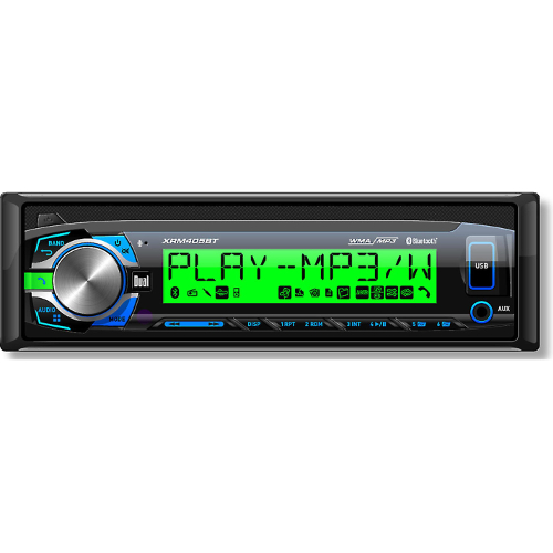 Dual XRM405BT CD Receiver with Bluetooth