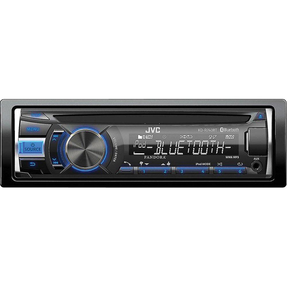 JVC KDR740BT HD Radio-USB-CD with Bluetooth Receiver