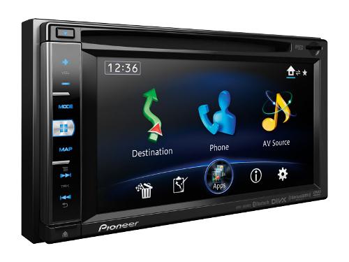 Pioneer AVICX850BT Multimedia Navigation Receiver Bluetooth / DVD / iPhone / iPod