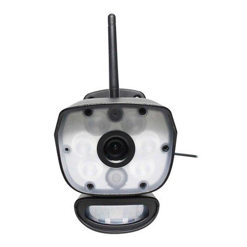 Uniden ULC58 Video Surveillance Camera with Spotlight - Black