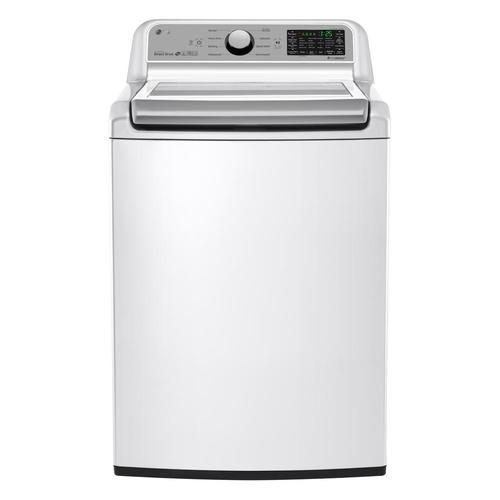 LG WT7200CW 5.0 Cu. Ft. Top Load Washer - White 52B-285-WT7200CW