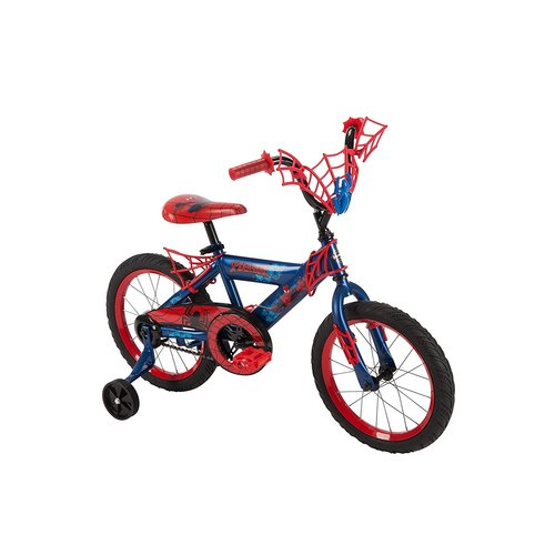 "Huffy 16"""" Marvel Ultimate Spider-Man Boys' Bike - Blue/Red"" 12B-796-21967"