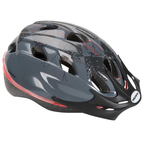 Huffy Boys Halo Glow Bicycle Helmet - Gray 12A-796-00231HL