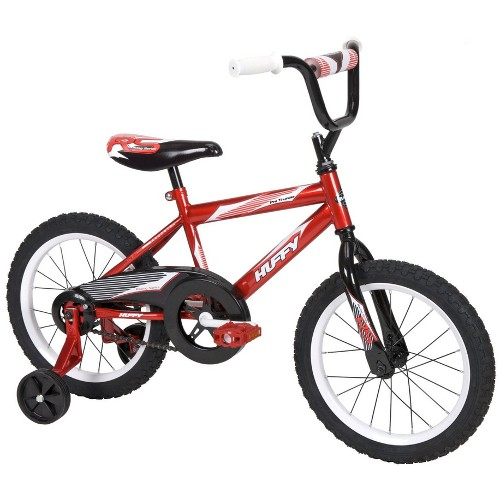 Huffy Pro Thunder Boy's 16'' Bike - Red 12B-796-21804
