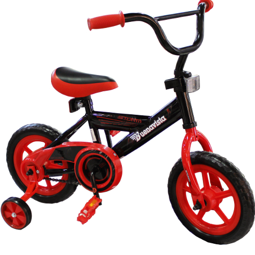 "Buenavista 12"" Bicycle - Black / Red 12B-IT4-JK12BEVABKRD"