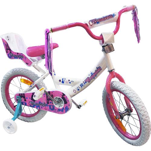 "Buenavista 16"" Bicycle - White / Pink 12B-IT4-JK16GAIRWHPK"