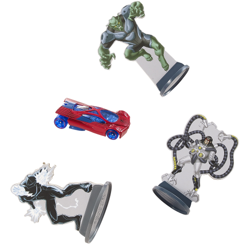 Hot Wheels Marvel Spider-Man Spidey's Speed Drop Track Set 12C-O53-CDJ22