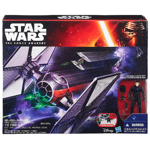 """Hasbro Star Wars The Force Awakens 3.75"""" Vehicle First Order Special Forces TIE Fighter 12C-R30-HSB3920"""