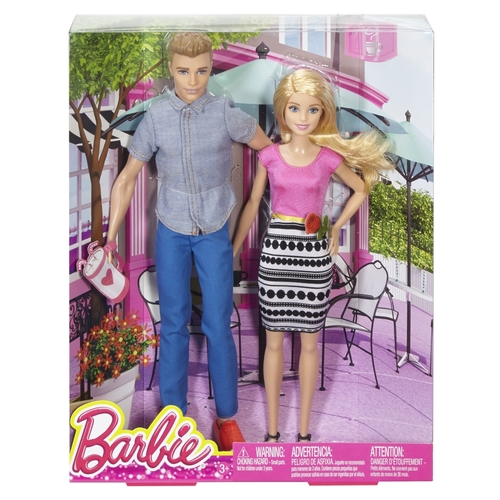 Mattel Barbie and Ken Doll Gift Set 12D-766-DLH76