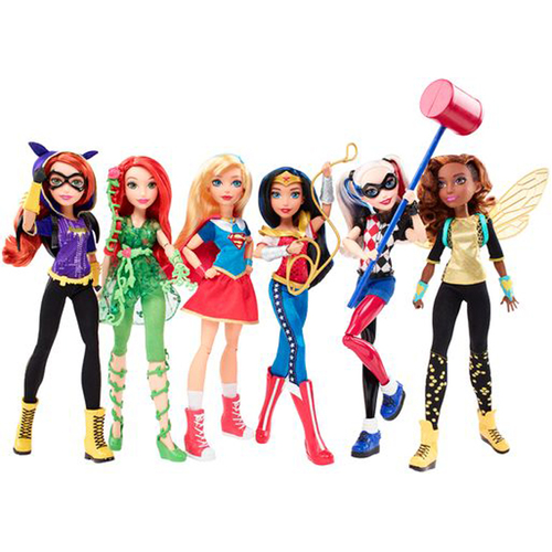 "Mattel DC Super Hero Girls Non Core Character 6"" Assortment Action Figure 12D-766-DTD34"