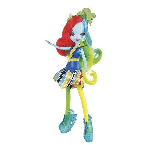 My Little Pony Equestria Girls Rainbow Dash Doll - Neon Rainbow Rocks