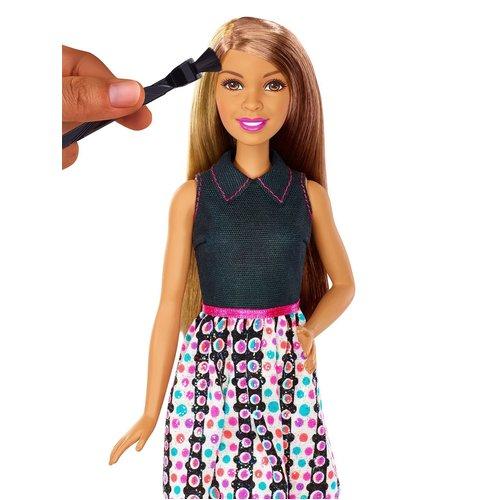 Barbie Mix 'N Color Barbie Doll - Brunette