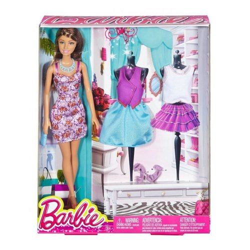 Barbie Teresa Doll & Fashion Creations Blitz Gift Set