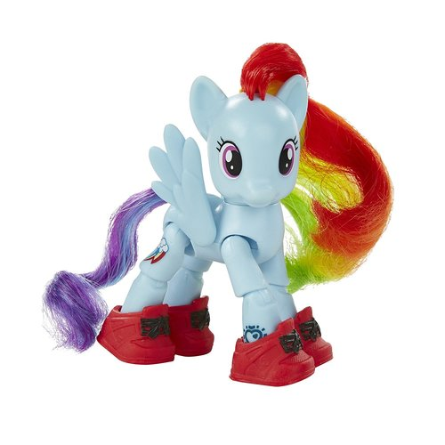 My Little Pony Friendship is Magic Rainbow Dash Sightseeing Figure 12D-R30-HSB5680