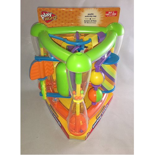 Play Right Teaching Triangle Multi-activity Baby Toy 12E-359-09747