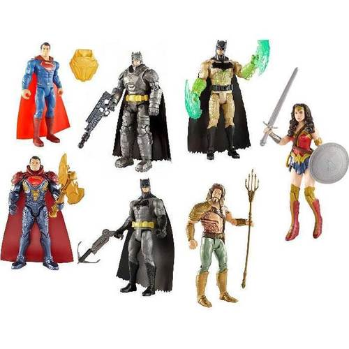 "Mattel Batman v Superman: Dawn of Justice 6"" Figure Assortment 12K-766-DJG28"