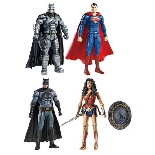 "Mattel Batman v Superman Dawn of Justice Multiverse 6"" Figures Assortment 12K-766-DJH14"