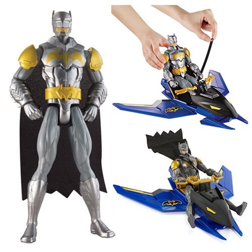 Mattel Batman Unlimited 12-inch Figure and Batjet Vehicle 12K-766-DLH02
