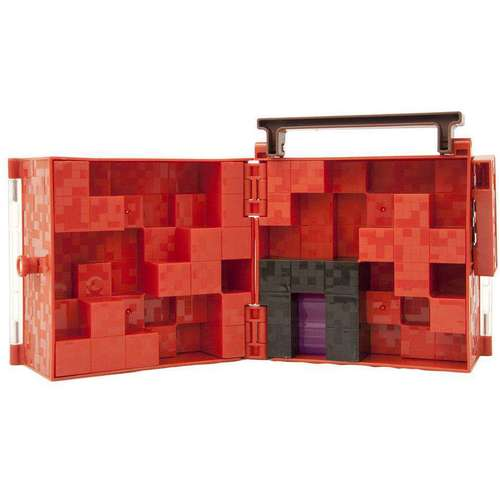 Mattel Minecraft Series 3 Netherrack Mini Figure Collector Case 12K-766-DWV91