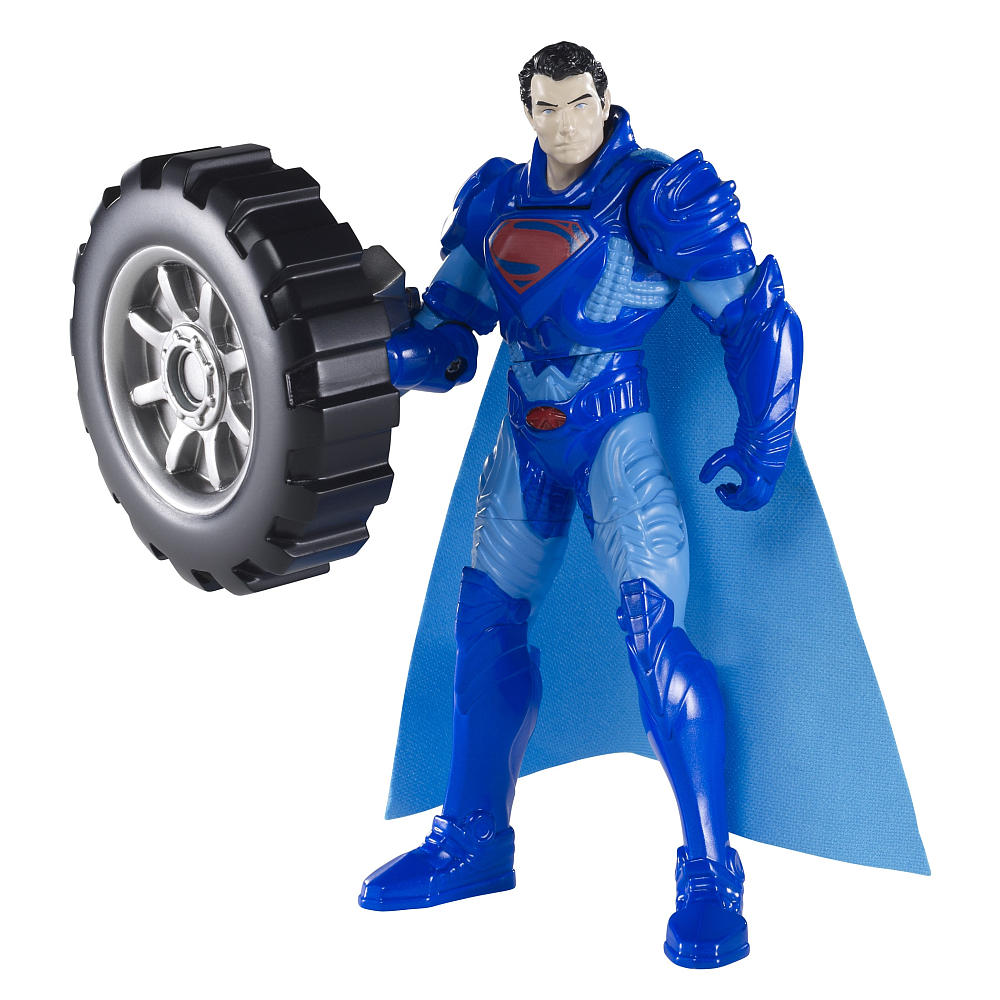 Mattel Superman Man of Steel Deluxe Wheel Wrecker Action Figure - Assorted 12K-766-Y0808