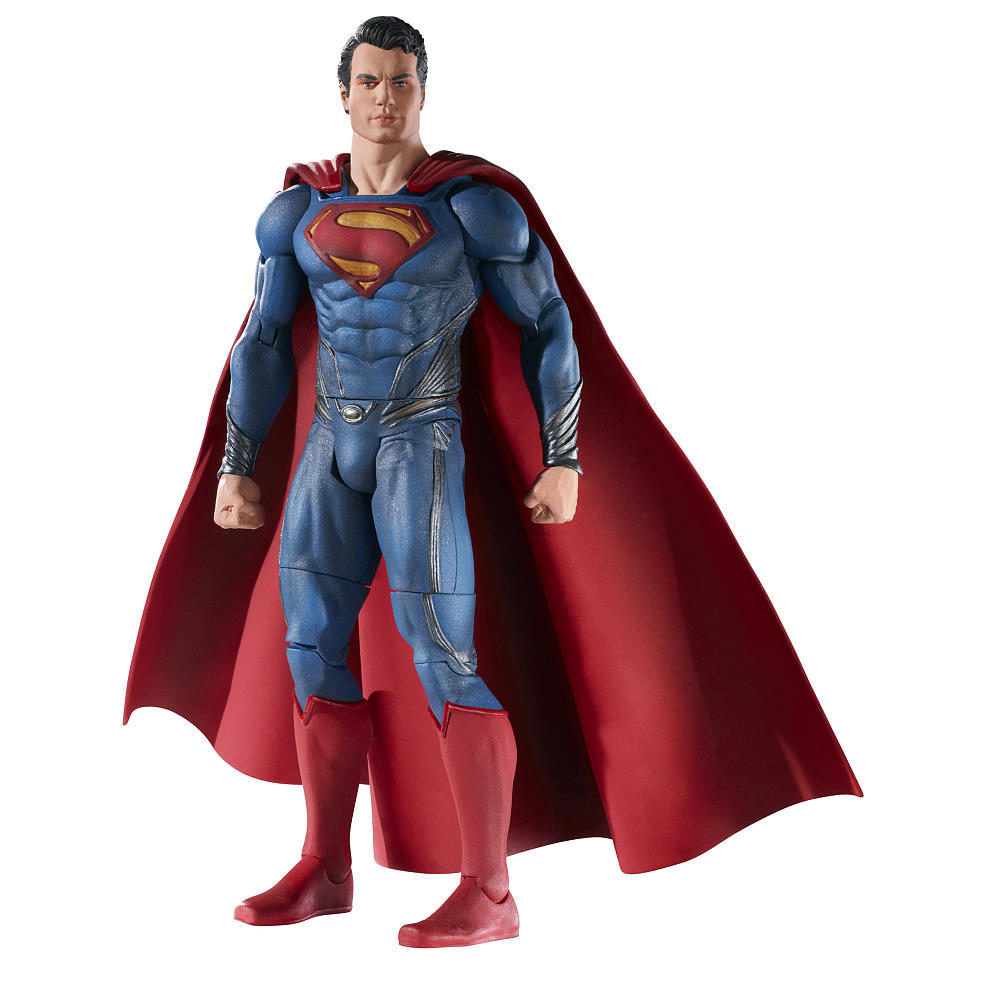 Mattel Superman Man of Steel Movie Masters Action Figure - Assorted 12K-766-Y0822