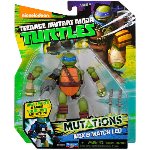 Teenage Mutant Ninja Turtles Mix 'N Match Action Figure - Leonardo 12K-974-90380