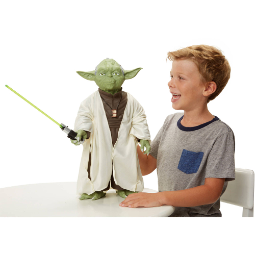 Jakks Pacific Star Wars Classic Giant Sized Yoda Figure 12K-D37-90819