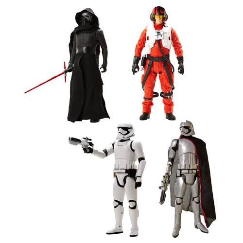 Star Wars Ep VII 20-Inch Scale Wave 1 Action Figure Case 12K-D37-90822
